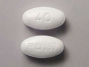 Picture LIPITOR 40MG TABLETS | Drug Information | Pharmacy