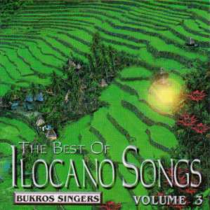 Ilocano Music CD The Best of Volume 3   Bukros Singers