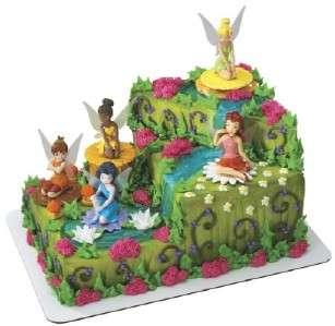 Disney Princess TINKERBELL FAIRIES birthday cake topper