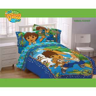 Nickelodeon Go Diego Go Animal Rescue Twin Sheet Set