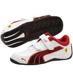 Ferrari Drift Cat IV Leather Kids