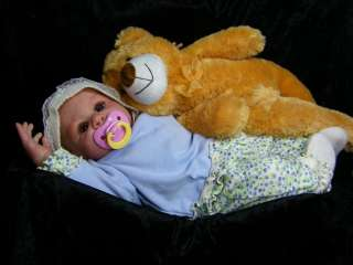 Sweet newborn Kinsey by Denise Pratt, now Cally Ann reborn doll