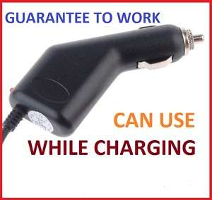 Auto Car Power Charger Cable GARMIN NUVI 1490T 2360LMT