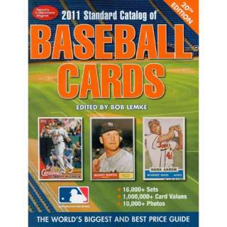 Standard Catalog of Baseball Cards, Lemke, Bob Home