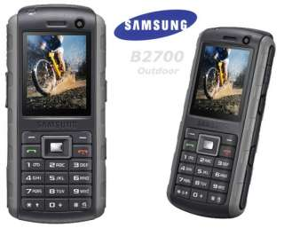 NEW UNLOCKED SAMSUNG B2700 GSM 3G CELL PHONE BLACK