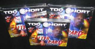 TOO SHORT AFTERPARTY NEW SEALED 2CD + DVD RAP 50 CENT