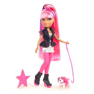 Bratz Neon Runway Yasmin Doll, Hot Pink/Purple