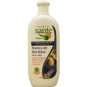 Shampoo Sante Natural etnobotanico con Romero y Nogal   Para Cabello