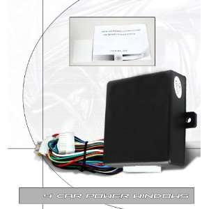 Universal 4 Car Power Windows Alarm System Performance Automotive