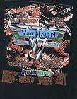Van Halen Tour 2007 T Shirt XL Eddie Alex Wolfgang David Lee Roth