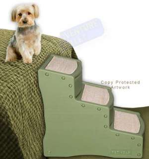 Pet Gear 24 Easy Steps Dog Cat Stairs Ramp PG9730CH