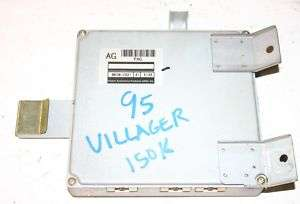 1995 VILLAGER QUEST OEM ENGINE COMPUTER ECM ECU 94 95