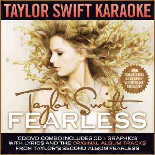 Big Machine Karaoke CDG/DVD Combo Taylor Swift Fearless
