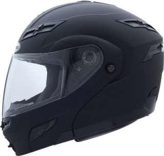 LARGE 2011 GMAX GM54s FLAT BLACK MODULAR Helmet LED