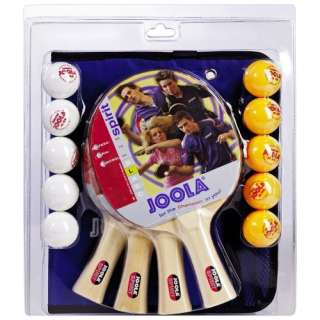 JOOLA USA Tournament Family Table Tennis Paddle Set Game Room