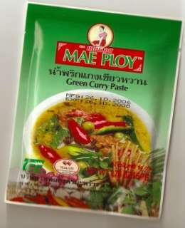 THAI Yellow Red Green CURRY PASTE + Coconut Milk Powder