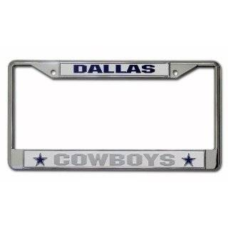 Rico Dallas Cowboys Chrome License Plate Frame