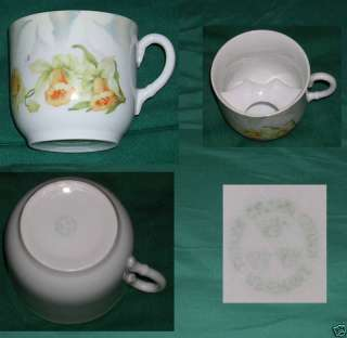 Antique Germany Moustache Cup Three Crown China.