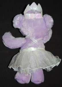 Dan Dee Dandee Collectors Choice Plush Purple Princess Ballerina