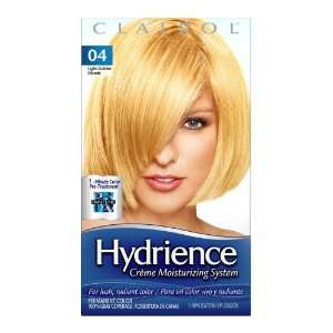 Clairol Hydrience Color, 04 Light Golden Blonde (Pack of 3