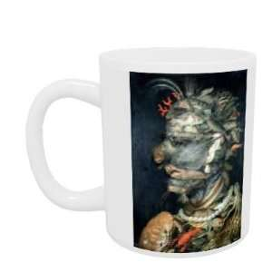Water, (oil on canvas) by Giuseppe Arcimboldo   Mug   Standard Size