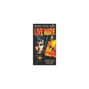 Live Wire [VHS]: Pierce Brosnan, Ron Silver, Ben Cross, Lisa Eilbacher