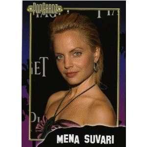 Mena Suvari PopCardz Star Collector Card. Series One, No. 26. 2008.
