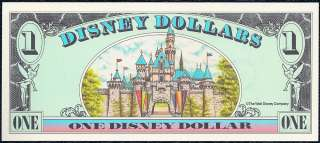 1996 $1 Disney Dollar crisp MINT #A00376541A