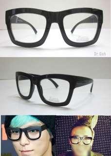 Oversized Black Thick Bold Full Rim Eye Glasses Frame T.O.P GD