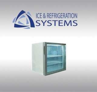 METALFRIO 1.8 CUBIC FOOT GLASS DOOR COUNTERTOP ICE CREAM FREEZER