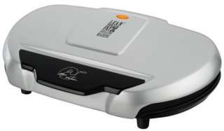 New George Foreman Family Size Indoor Electric Grill   133 Sq. Inches