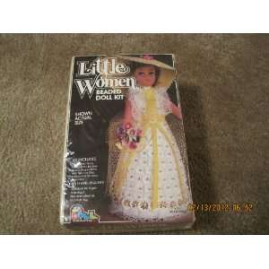 Little Women Beaded Doll Kit Bridesmaid Arts, Crafts & Sewing