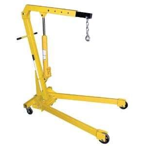 Heavy Duty Steel Foldable Shop Crane Engine Hoist with 2K Folding Legs