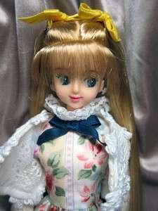 Takara Jenny 27cm Licca Castle long straight hair JUDY
