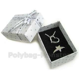 Polka Dots Jewelry Gift Boxes Necklace Pendant #33 2