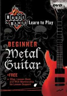 Rock House Learn Metal Guitar Beginner (DVD)