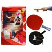 Table Tennis Racket Butterfly 201 Shakehand Table Tennis Racket