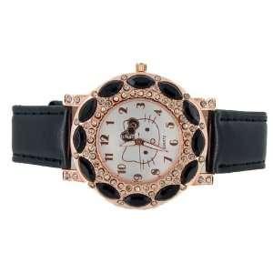 Hello Kitty Crystal decorated Bracelet Girls Kids Wrist Watch