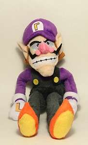Super Mario Plush   11 Waluigi Soft Stuffed Plush Toy