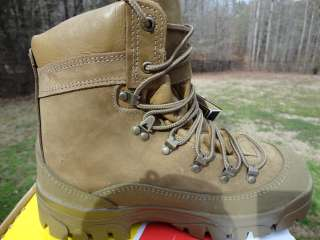 NEW NIB US 950 MCB BELLEVILLE MOUNTAIN COMBAT BOOT 8 W WIDE
