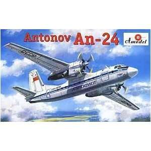 An 24 Military Civilian Aircraft 1 72 Amodel Toys & Games