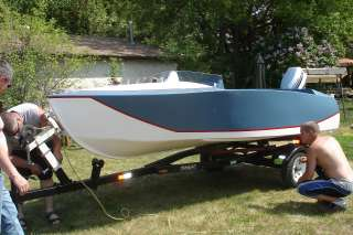 Here are some comments and pics a customer sent us of a boat he built