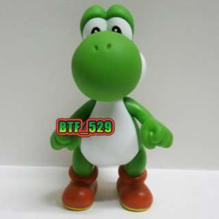 Mario Bros Action Figure( Green , Blue , Yellow , Red and Pink Yoshi