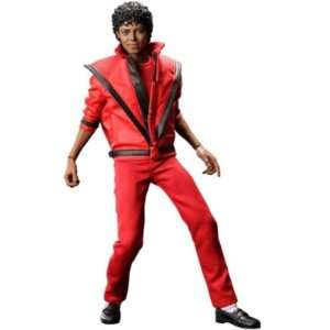 HOT TOYS JAPAN MICHAEL JACKSON 1/6 THRILLER PVC FIGURE