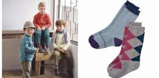 This  is for a set of 2 pairs Super Cool Argule Boys Socks