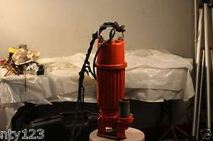 MULTIQUIP 2 ELECTRIC SUBMERSIBLE WATER PUMP MODEL ST 2010TCUL