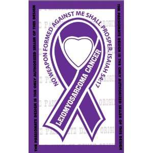 Leiomyosarcoma Cancer Ribbon Decal 4 X 7 Everything Else