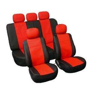 FH PU002115 Classic Synthetic Leather Car Seat Covers