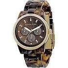 Michael Kors MK5038 Tortoise Ladies Watch   Brown Dial Gold Tone Case