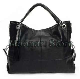 Design Faux Leather Women Hobo Clutch Handbag Shoulder Totes Bag